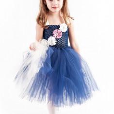 Rochite nunta copii tutu Marine 6-7 ani