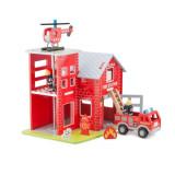 Statie de pompieri New Classic Toys, New Classic Toys