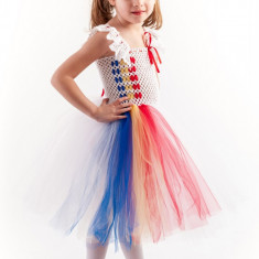 Costum petrecere tutu Romancuta 6-7 ani