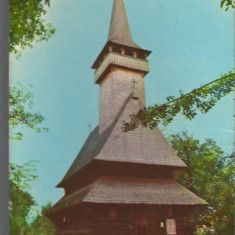CPI (B9284) CARTE POSTALA - BISERICA DE LEMN DIN SAT SUGATAG, JUD. MARAMURES - Carte Postala Maramures dupa 1918, Necirculata, Fotografie