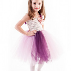 Rochite serbare tutu Anemona 6-7 ani