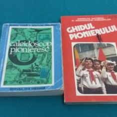 LOT 2 CĂRȚI PIONIER: CALEIDOSCOP PIONIERESC, GHIDUL PIONIERULUI