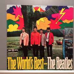 The BEATLES - The WORLD'S BEST (1968/ODEON/RFG) - Vinil/Analog/Impecabil (NM) - Muzica Rock emi records