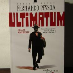 ULTIMATUM SI ALTE MANIFESTE, -FERNANDO PESSOA - Roman