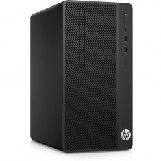 Sistem desktop HP 290 G1 MT Intel Core i3-7100 4GB DDR4 256GB SSD Black - Sisteme desktop fara monitor HP, 200-499 GB