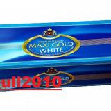 Tuburi MAXI GOLD ALB - 200 tuburi tigari pentru injectat tutun, filtre tigari - Foite tigari