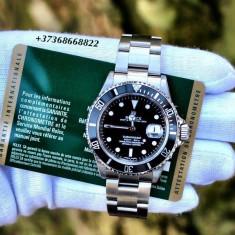 Ceas barbatesc ROLEX Submariner_Casual&Elegant_Silver Edition, Quartz