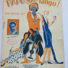 (T) Partitura muzicala veche - Papusa - Tango - Che papusa oi! - Jean Moscopol