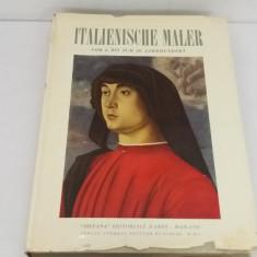 CATALOG 100  PICTORI  ITALIENI *SECOLUL AL XX-LEA / TEXT LIMBA GERMANĂ/ 1959/B*