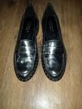 LICHIDARE STOC! Pantofi dama CARVELA Kurt Geiger piele argintiu superbi 37 noi