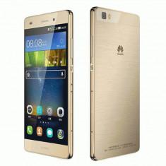 Smartphone Huawei P8 Lite, Dual Sim, 5 Inch, Octa Core, 2 GB RAM, 16 GB, Retea 4G, Gold - Telefon Huawei