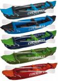 Inflatable Canoe Cherokee albastru-verde, Waimea