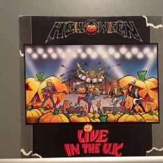 HELLOWEEN - LIVE IN THE UK (1989/EMI Rec/RFG) - Vinil/Analog/Impecabil (NM+) - Muzica Rock emi records