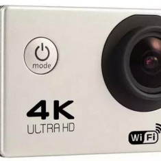 Camera Video Sport 4K iUni Dare 85i, WiFi, mini HDMI, 2 inch LCD, Argintiu + Sport Kit - Camera Video Actiune iUni, Card de memorie