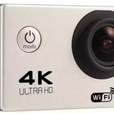 Camera Video Sport 4K iUni Dare 85i, WiFi, mini HDMI, 2 inch LCD, Argintiu + Sport Kit - Camera Video Actiune iUni, Card de memorie