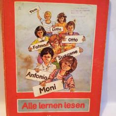 Carte limba germana, Alle Lernen lesen, Kamp, 1982
