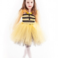 Rochite petrecere tutu Albinuta 4-5 ani
