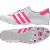 Adidasi Adidas AdiTrack 100 % Originali, Marimea 40 2/3 - Adidasi dama, Culoare: Alb, Piele naturala