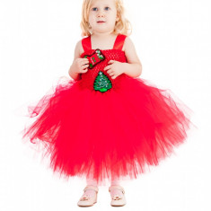 Costum fete tutu: RED 3in1 4-5 ani