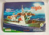 (T) Macheta fregata, vapor din carton, jucarie pt copii, usor de asamblat, Alta