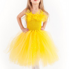 Rochii botez tutu Printesa Marigold 0-1 ani