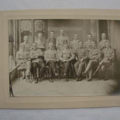 Fotografie veche - format mare, studio fotografic Vrai J. din Arad, perioada WWI