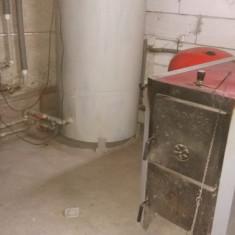 De vanzare sistem de incalzire cu combustibil solid!