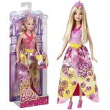 Jucarie Papusa Printesa Barbie Pink Party CFF24 Mattel
