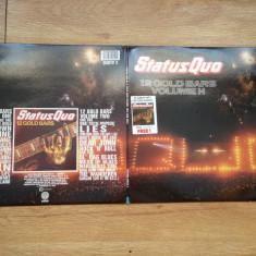 STATUS QUO - 12 GOLD BARS Vol. 1+2 (2LP,2 VINILURI, 1984,in UK) 24 trackuri