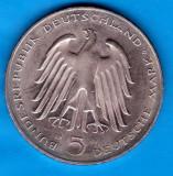 (M1815) MONEDA GERMANIA - 5 MARK 1981, LIT. G, CARL REICHSFREIHERR VOM STEIN, Europa