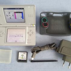 Joc portabil Nintendo DS Lite + discheta + husa + incarcator + carcasa + stylus - Consola Nintendo