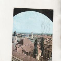 Bnk cp Oradea - Vedere generala - circulata - Carte Postala Crisana dupa 1918, Printata