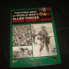 Arme/Uniforme/ Casti/ Echipament/Album Catalog istorie, Aliatii WW 2/colectie
