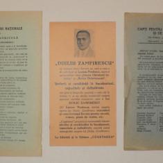 LOT 3 reclame vechi interbelice editura Universul Cugetarea Cartea Romaneasca - Reclama Tiparita