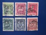 ROMANIA 1919 OCUPATIE POCUTIA LOT STAMPILAT