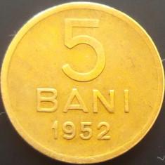 Moneda 5 Bani - ROMANIA, anul 1952 *cod 3284 --- FRUMOASA - Moneda Romania