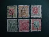 LOT TIMBRE VECHI ISLANDA, Stampilat