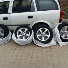 Jante bmw r 16 originale cu anvelope iarna - Janta aliaj BMW, Numar prezoane: 5