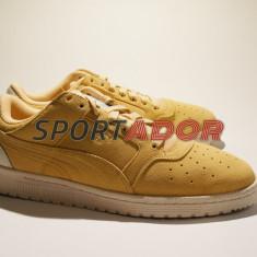 Adidasi Puma Sky II Vachetta 41EU -piele naturala- factura, garantie - Adidasi barbati Puma, Culoare: Maro, Piele intoarsa
