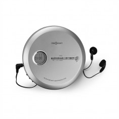 ONECONCEPT CDC 100MP3, discman, cd player portabil, antișoc, esp, microusb, argintiu