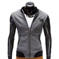 Jacheta pentru barbati, casual, slim fit, cu fermoar - B347 - Jacheta barbati, Marime: XL