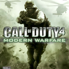 Call of Duty 4 - Modern Warfare - XBOX 360 [Second hand], Shooting, 18+, Multiplayer