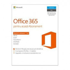 Microsoft Office 365 Home Premium 5 PC 1 AN All Languages (Licenta Electronica) - Aplicatie PC