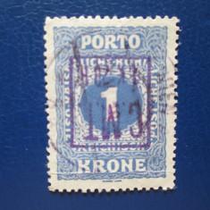 ROMANIA 1919 OCUPATIE PROCUTIA C.M.T CU EROARE STAMPILAT - Timbre Romania