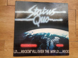 STATUS QUO - ROCKIN ALL OVER THE WORLD (1977,PHONOGRAM,made in UK)  Vinil vinyl