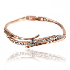Brăţară Borealy Bangle Seduction Rose - Bratara placate cu aur