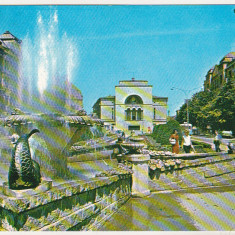 Bnk cp Timisoara - Vedere - circulata - Carte Postala Banat dupa 1918, Printata