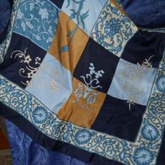 Batic matase, elegant, Albastru