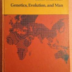 Genetics, Evolution, and Man - W.F. Bodmer, L.L. Cavalli-Sforza