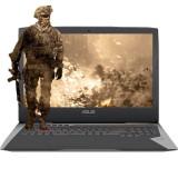 Laptop Asus ROG G752VS-BA279T 17.3 inch Full HD Intel Core i7-7700HQ 32GB DDR4 1TB HDD 256GB SSD nVidia GeForce GTX 1070 8GB Windows 10 Gray